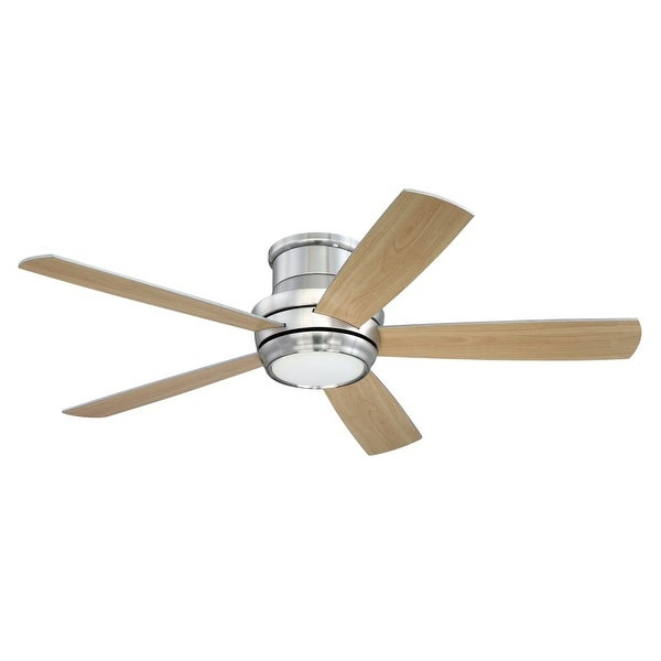 """Craftmade TMPH525 Tempo Hugger 52"""" 5 Blade Ceiling Fan - Blades, Remote and Light Kit Included"""