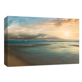 "PTM Images 9-148383  PTM Canvas Collection 8"" x 10"" - ""Island Mist"" Giclee Beaches Art Print on Canvas"