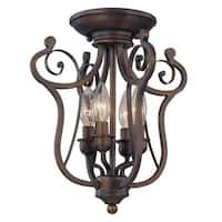Millennium Lighting 1144 Chateau 4 Light Semi-Flush Ceiling Fixture