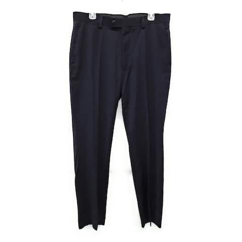 Jones New York Signature Wide Leg Stretch Trouser Pants, Black, 12