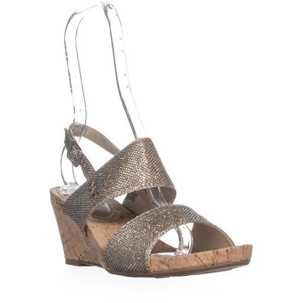 Shop White Mountrain Alexus Ankle Strap Wedge Sandals