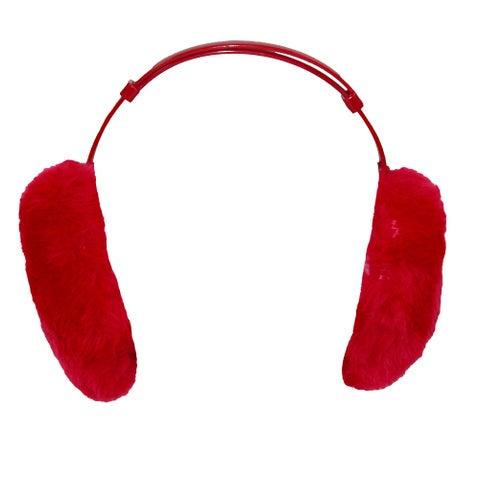 CTM® Jumbo Furry Earmuffs - One size