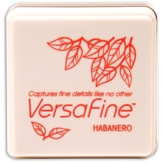 Versafine Pigment Small Ink Pad-Habanero