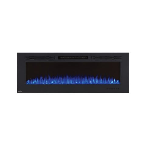 Napoleon NEFL60FH-MT 5000 BTU 60 Inch Wide Wall Mounted Electric Fireplace with - Black - N/A