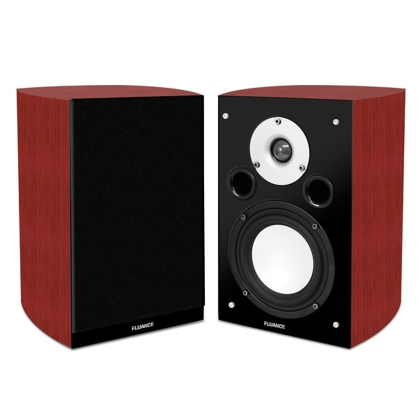 Fluance XL7S High Performance Two-way Bookshelf Surround Sound Speakers