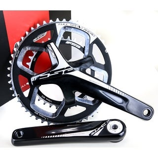 FSA Gossamer Pro BB386 EVO ABS Road Bike Crankset 50/34T N10/11s 172.5mm NEW