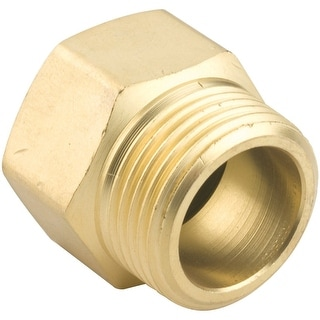 """Gilmour 7MP7FH Brass Male Hose Connector, 3/4"""" x 3/4"""""""