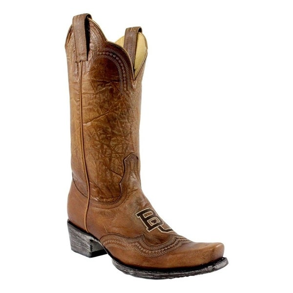 Gameday Boots Womens Baylor Square Leather Distressed
