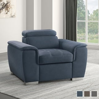 Link to Denizen Chair with Pull-Out Ottoman Similar Items in Living Room Chairs