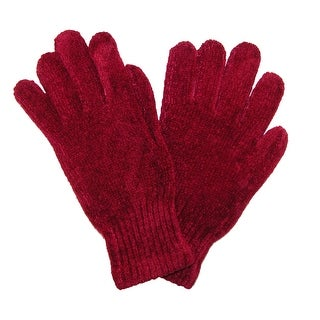CTM® Women's Chenille Winter Gloves - One Size