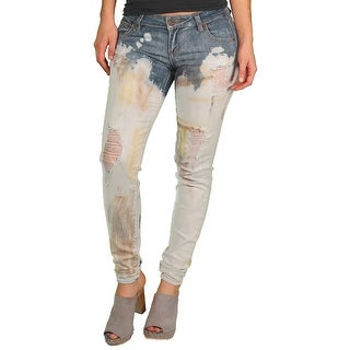 Spoon Jeans Junior Bleached Destructed Jean
