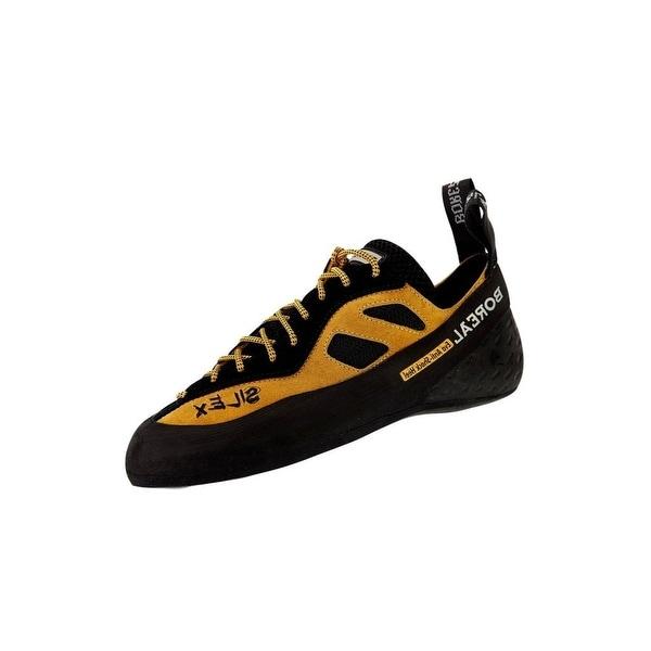 Boreal Climbing Shoes Mens Silex FS-Quattro Leather Black Orange
