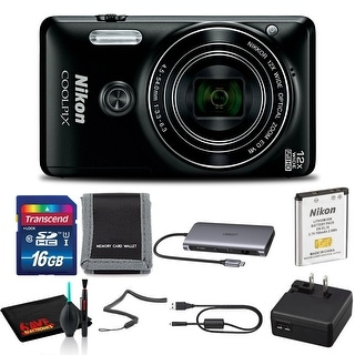 Link to Nikon COOLPIX W300 Digital Camera (Camo) Includes 16GB Memory Kit - Black Similar Items in Digital Cameras