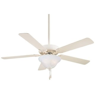 "MinkaAire Contractor Uni-Pack Contractor 52"" 4 or 5 Blade Indoor Ceiling Fan with Blades and Light Kit Included"