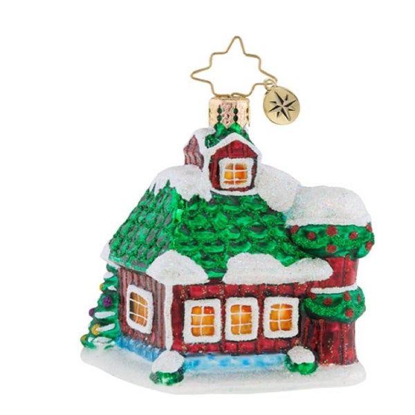 Christopher Radko Farm Fiesta Little Gem Christmas Ornament #1019192
