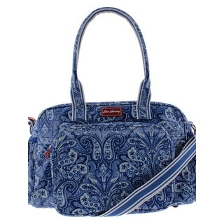 Lou Harvey Diaper Bag Coated Canvas Printed