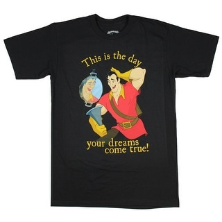 Disney Beauty And The Beast Gaston Your Dreams Come True T-Shirt