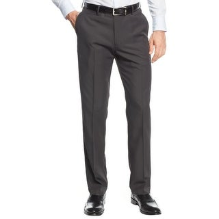 Haggar Mens Dress Pants Straight Fit Flat Front