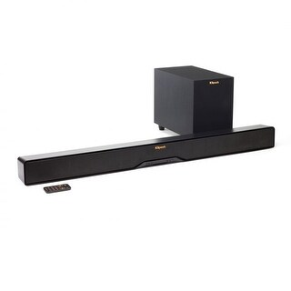 Klipsch R-4B Black Sound Bars with Wireless Subwoofer