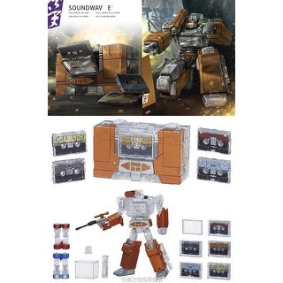 "Transformers Platinum Edition Masterpiece Action Figure: ""Year of the Goat"" Soundwave - multi"