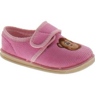 Foamtreads Girls Freckles Slippers - Pink