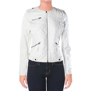 XOXO Womens Juniors Jacket Solid Quilted - L