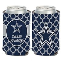 Dallas Cowboys Quatrefoil Can Cooler