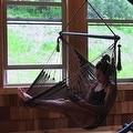 Sunnydaze Hanging Caribbean XL Hammock Chair, 40 Inch Wide Seat - Thumbnail 15