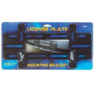 Custom Accessories 92651 Large License Plate Mounting Bracket, Black
