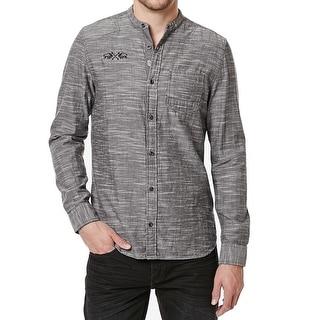 Shop Buffalo David Bitton New Gray Men Size 2xl Button