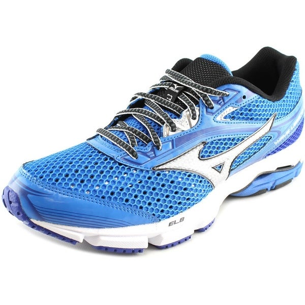 Mizuno Wave Legend 3 Men Round Toe Synthetic Blue Running Shoe