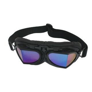 Women Man Black Tinted Lens Ski Snow Snowboarding Racing Sport Goggles