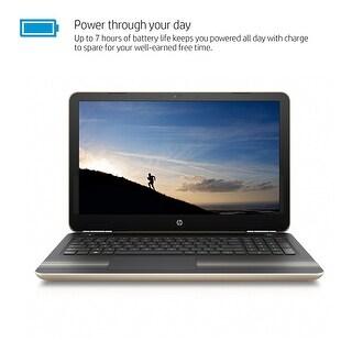 HP Pavilion 15, Intel Core i7-6500U, 12GB, 15.6 Full HD Touchscreen Laptop - GOLD