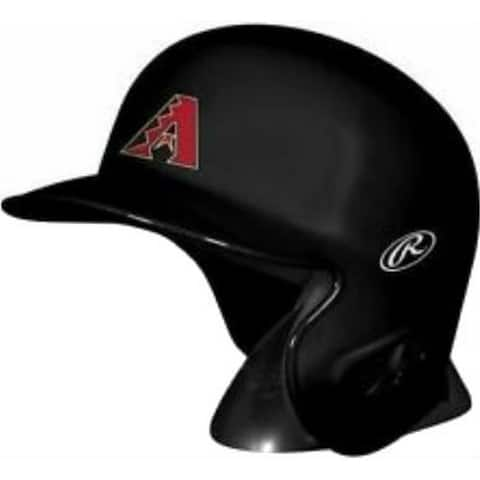 "Rawlings MLB Arizona Diamondbacks Mini Helmet Replica Baseball Collect MLBRL-ARI - Black - 6.75""L x 4.5""W X 5.25""H"