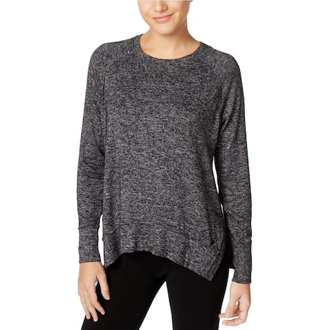 Calvin Klein Performance Women's Long Dolman-Sleeve Top Black Size Medium