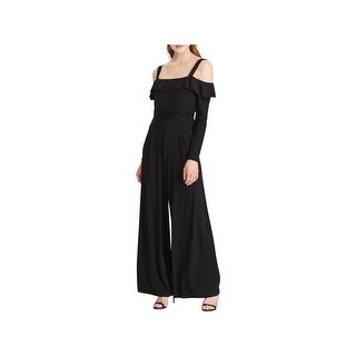 American Living Womens Jumpsuit Party Off-The-Shoulder