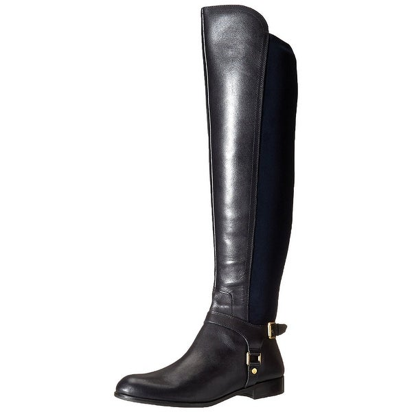 Franco Sarto Womens Mast Almond Toe Over Knee Riding Boots