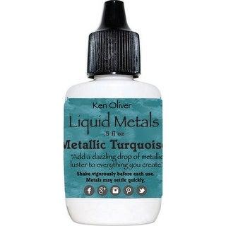 Ken Oliver Liquid Metals-Metallic Turquoise
