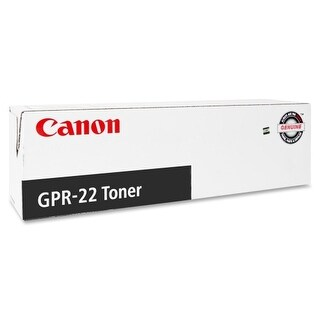 """Canon GPR22 B Toner Cartridges Canon GPR-22 Black Toner Cartridge - Black - Laser - 8400 Page - 1 Each - OEM"""