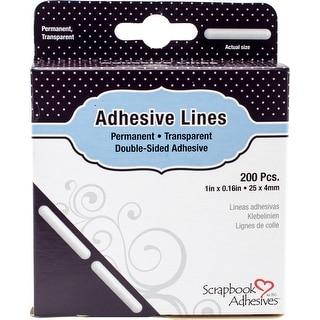 "Scrapbook Adhesives Lines 200/Pkg-Permanent, 1"""