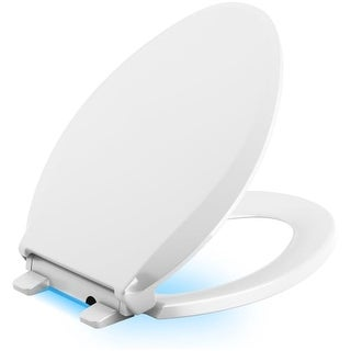 Kohler K-75796 Cachet Elongated Closed Front Toilet Seat with Nightlight, Quiet-Close, and Grip-Tight|https://ak1.ostkcdn.com/images/products/is/images/direct/d71460c7f750a8741493a7270da97c0006afdb87/Kohler-K-75796-Cachet-Elongated-Closed-Front-Toilet-Seat-with-Nightlight%2C-Quiet-Close%2C-and-Grip-Tight.jpg?_ostk_perf_=percv&impolicy=medium