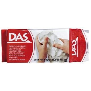 Prang DAS Air-Hardening Acid-Free Non-Toxic Modeling Clay, 2.2 lb, White