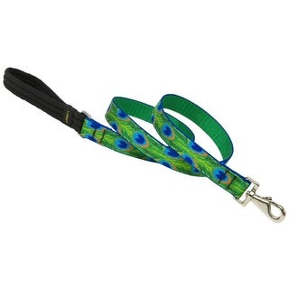 """Lupine 32659 Dog Leash, 1"""" x 6', Tail Feather Design"""