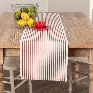 Link to Audrey Ribbed Runner Similar Items in Table Linens & Decor