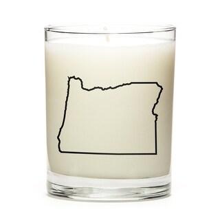 Custom Gift - Map Outline of Oregon U.S State, Lemon