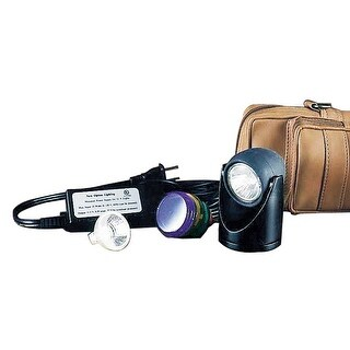 Halogen Spot Light Black 5 Colored Lenses 2H Renovator's Supply