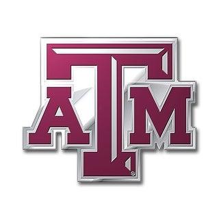 Texas A&M Aggies Auto Emblem - Color