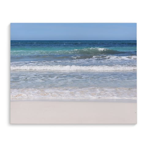 BEACH SCENE TWO Canvas Art By Jolina Anthony