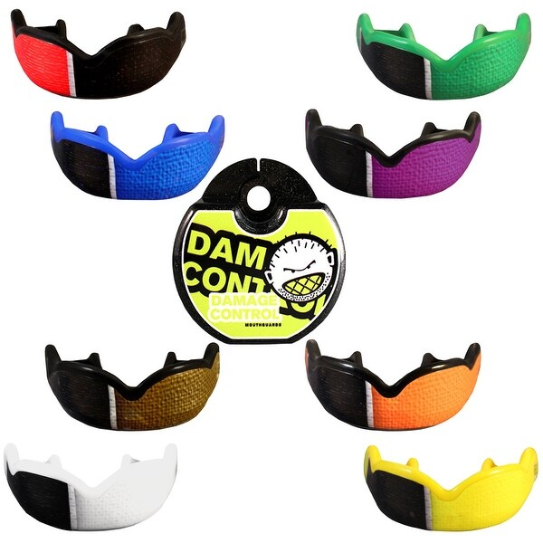 Damage Control Mouthguard White Belt