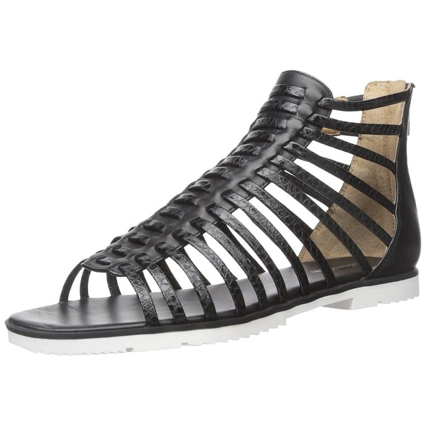 Calvin Klein Womens Maze Open Toe Casual Gladiator Sandals